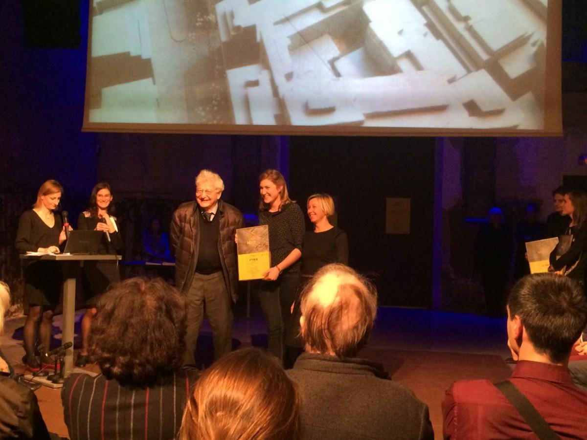 Anémone Degand lauréate du 4eme trophée Béton